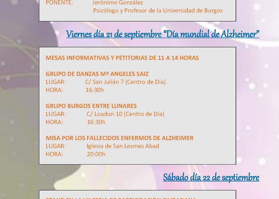 Día Mundial de Alzheimer 2018