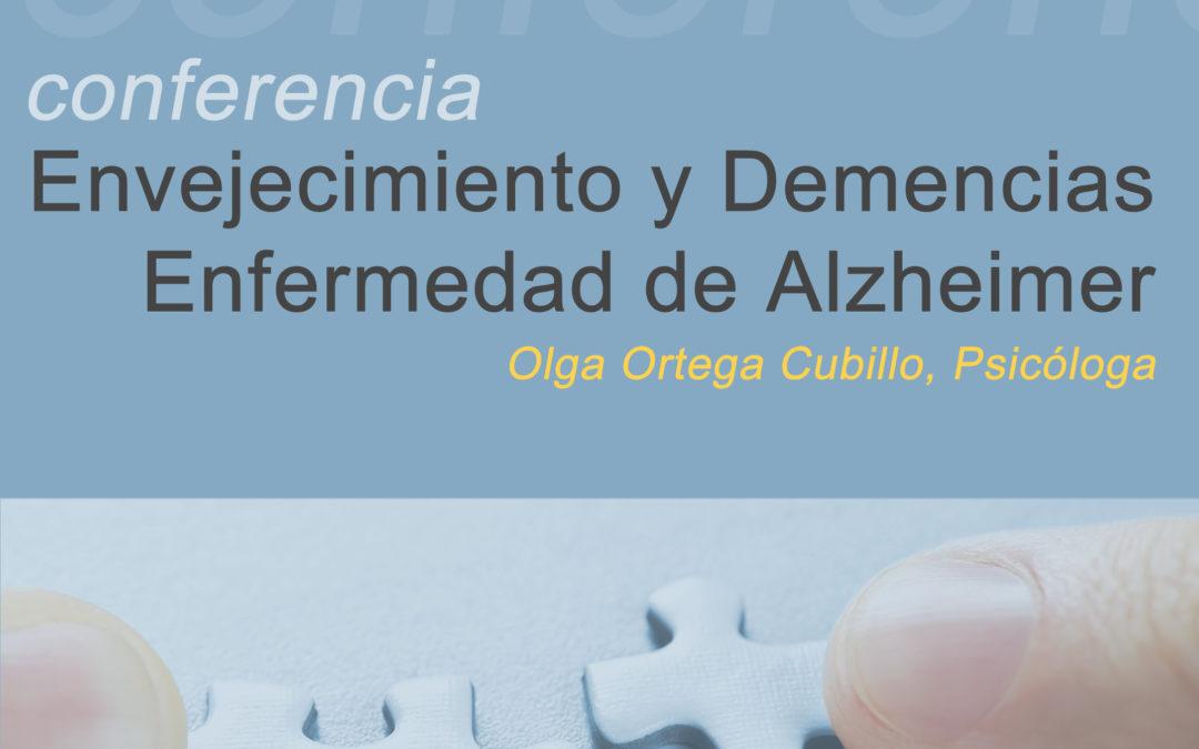 Conferencia 30 de mayo «Envejecimiento y Demencias»